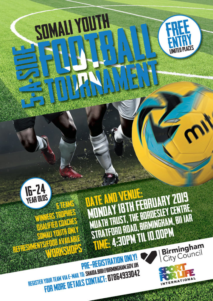 Sport Legacy foundation supports Somali youth football tournament